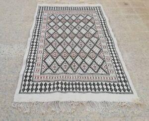Kilim rug, white rug, morrocan rug Carpet, Black rug, berber ru