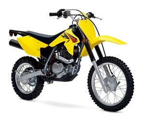 New 2017 Suzuki DRZ 125 & 125 L Trail Bike