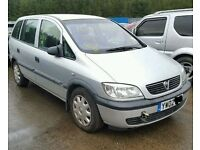 Vauxhall Zafira 2.0 Front Bumper Code: Z157 Breaking For Parts (2002)