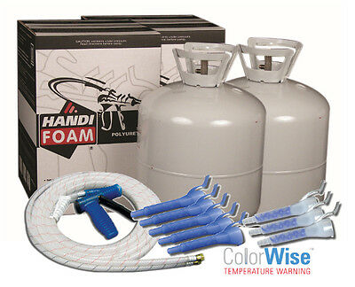 Handi-foam 600 Bf P10749 Spray Foam Insulation Kit Closed Cell