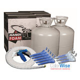 Handi-Foam 600 BF P10749, Spray Foam Insulation Kit, Closed Cell, Free Shipping!