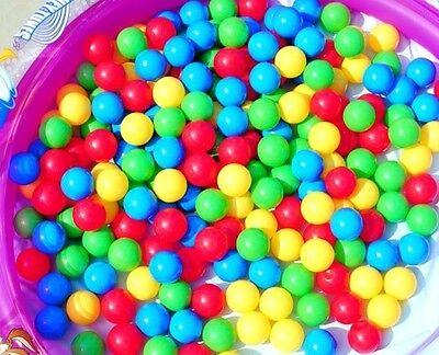 200 1000 Palle palline plastica pvc colorate gioco bambini piscina Intex Bestway