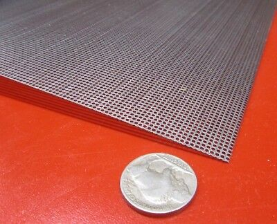 Perforated Steel Sheet .024 Thick X 24 X 24 .045 Hole Dia.