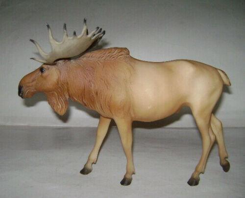 VINTAGE 1999 BREYER Moose Beige Brown Mold 398 Breyer Animal ELK RARE