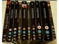 Supernatural DVD's Seasons 1 - 10