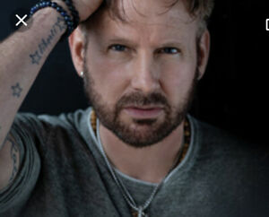 Reduced price- Pair of floor seats to Corey Hart at Rogers Place