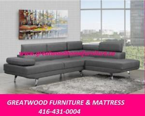 ***MODERN STYLE SECTIONAL WITH ADJUSTABLE HEADRESTS...$799***