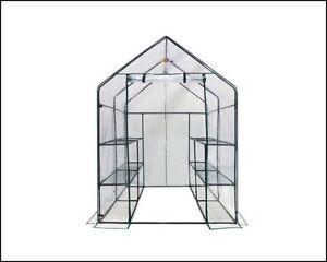 Greenhouse Kits Mini Gardening Supplies Portable Small Patio 6 Tier 12 Shelves