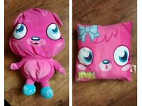Moshi Monsters Poppet Reversible Cushion