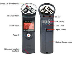Like New - Zoom H1 Handy Recorder