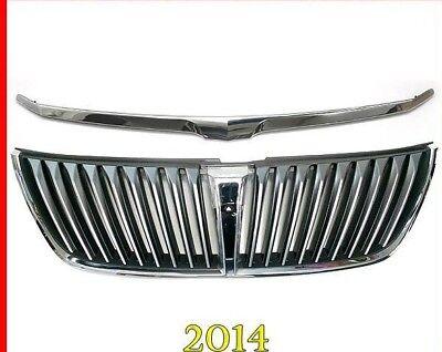 NEW OEM 2014-2015 Hyundai EQUUS FRONT GRILLE w/camera hole & Garnish molding