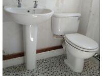 Sink Taps Toilet WC Soft Close Seat Bathroom