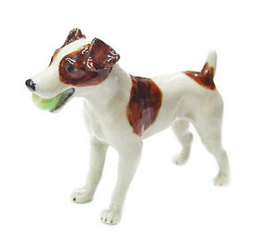 ★ New NORTHERN ROSE Porcelain Figurine JACK RUSSELL TERRIER DOG Statue Figure