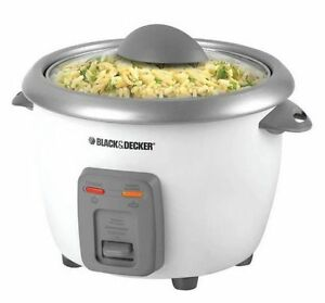Black & Decker 6 Cup Rice Cooker still in the box.