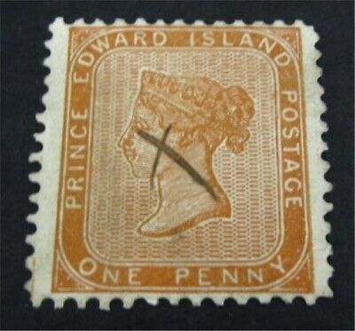 nystamps Canada Prince Edward Island Stamp # 4 Used UN$40 VF   L23y2932