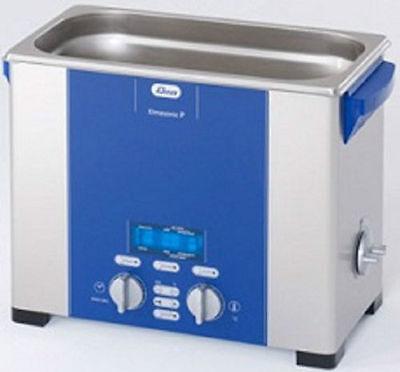 Elma Elmasonic P60h 5.75 Liter Heated Digital Ultrasonic Cleaner And Basket New