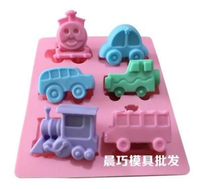 Thomas Cake Mold (Thomas Train Car Soap Mold Cake Mold Silicone Mould For Candy)