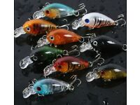 NEW - Fishing lures what give you results on Sea BASS etc; or fresh water fishes. Pike/Perch/Zander.
