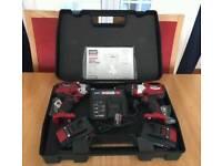 Ozito PXBHS-100u Cordless 18v Brushless Hammer Drill AND PXIDS-300u cordless Impact Driver brand new