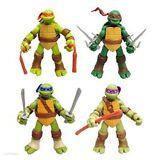 4 PC Set USA Teenage Mutant Ninja Turtles Classic Collection TMNT Action Figures
