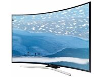 Samsung 55 Curved TV 55KU6100 Cracked Screen Damaged Spare Repairs