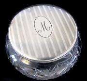 Sterling Powder Jar