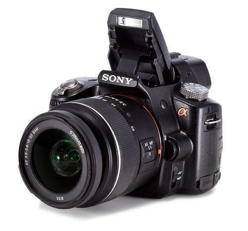 Kamera Spiegelreflexkamera Systemkamera Sony Alpha SLT-A35