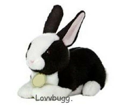 Black Bunny Rabbit Pet  18 inch American Girl or Baby Doll Accessory