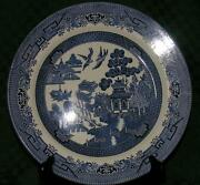 Churchill Blue Willow Plates