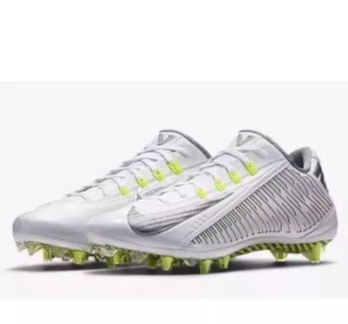6917eedeb2ee Nike Vapor Carbon Elite 2.0 TD Football Cleat White Volt 631425-101 11.5 12  13