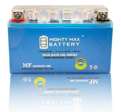 Mighty Max Ytx7a-bs Gel Battery For Tao Tao 50cc Scooter ...