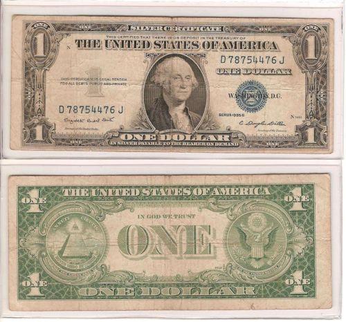 Silver Dollar Bill   eBay