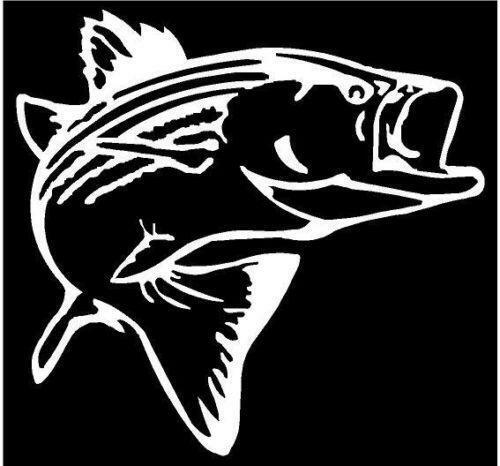 Fishing decals ebay for Saltwater fishing decals