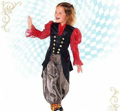 NWT Disney Store Alice in Wonderland Through the Looking Glass Costume Size 4
