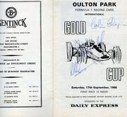 Graham Hill Signed