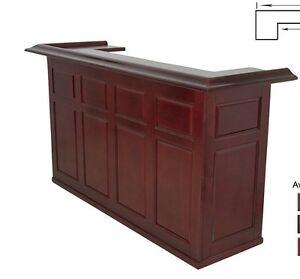 Bar cabinet pub liquor home basement storage wine for Home bar furniture on ebay
