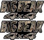 Big Bear Decal