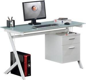 Glass Desk Home Office Desks Ebay
