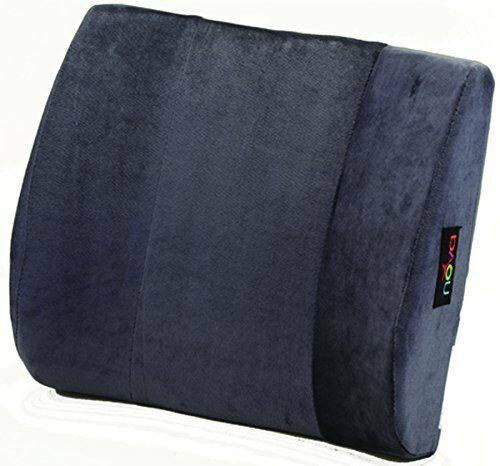 NOVA Medical Products Back Lumbar Cushion, Blue