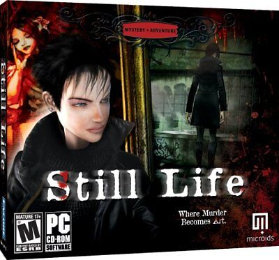Computer Games - Still Life PC Games Windows 10 8 7 XP Computer point and click adventure mystery