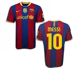 Messi jerseys