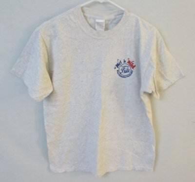Wet 'n Wild MVP Pride gray crew neck short sleeve graphic t-shirt *Sz M*