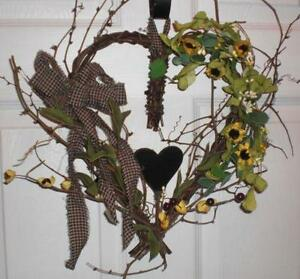 Primitive Country Wreaths