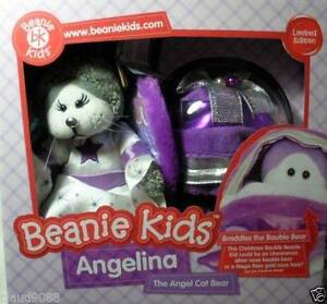 Beanie Kids - Angelina The Cat Bear And Braddles The Bauble Bear Bentley Canning Area Preview
