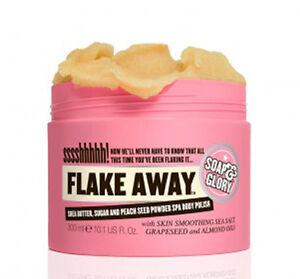 Soap And Glory FLAKE AWAY Moisturising Salt Scrub Body Polish 300ml