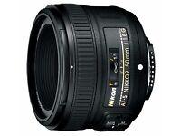 Lense Nikon Nikkor 50mm f/1.8 G AF-S