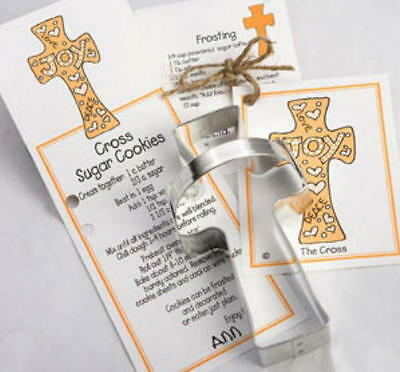 Cross Cookie Cutters (SALE! Ann Clark CROSS Tin Plated Steel Cookie Cutter W/Recipe  USA)