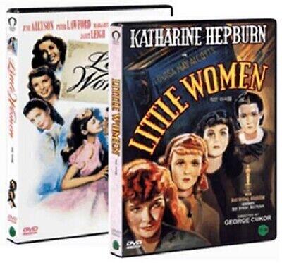 Little Women (1933) Katharine Hepburn + (1949) Elizabeth Taylor 2-DVD SET *NEW