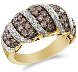 womens chocolate diamond rings - Chocolate Diamond Wedding Rings