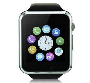 New Smart Watch Camera SIM SD Card Smart Phone Bluetooth Mate